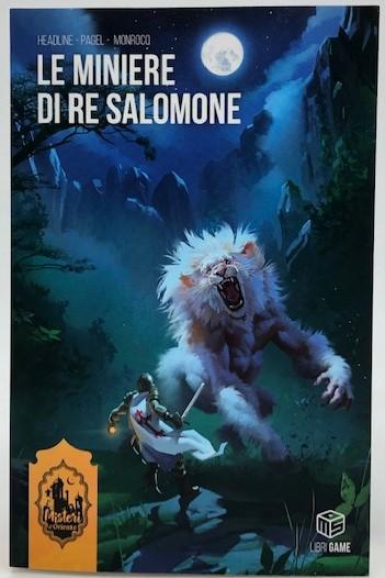 Misteri d'Oriente Vol. 3: Le Miniere di Re Salomone