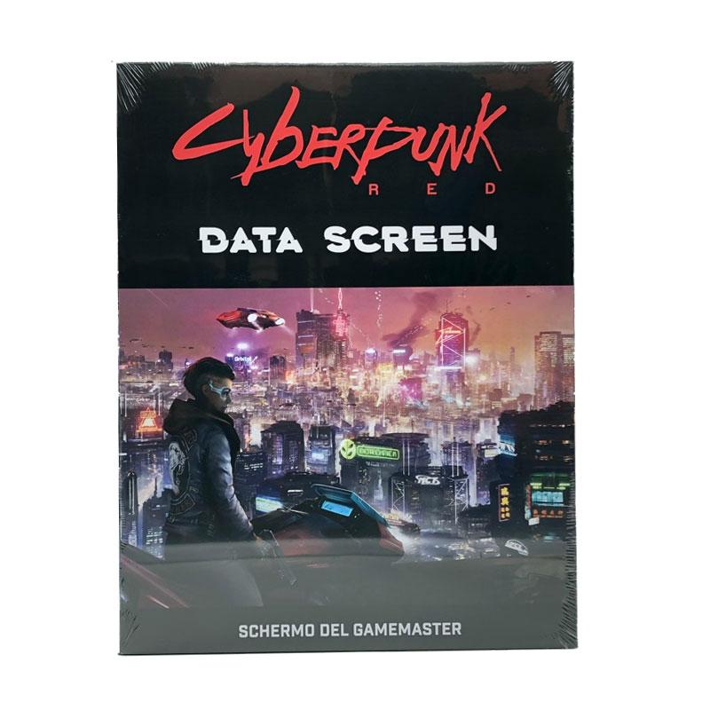 Cyberpunk Data Screen
