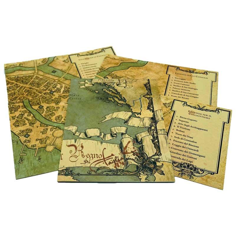 Brancalonia Set di Mappe