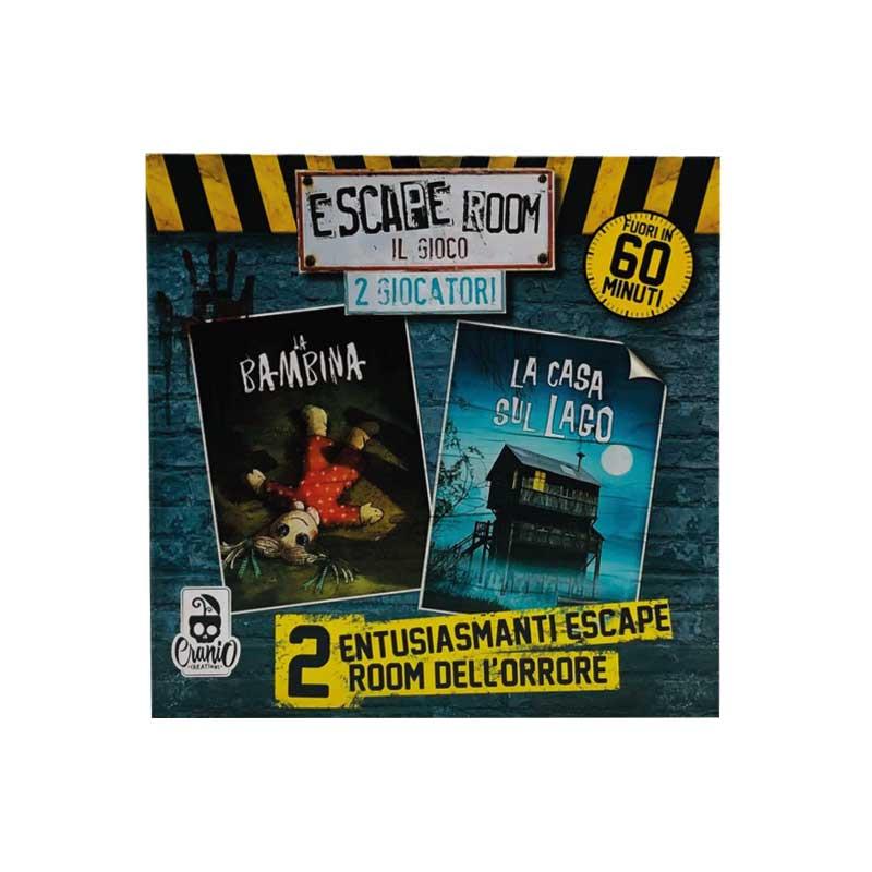 Escape Room 2 Giocatori La Bambina e La Casa sul Lago