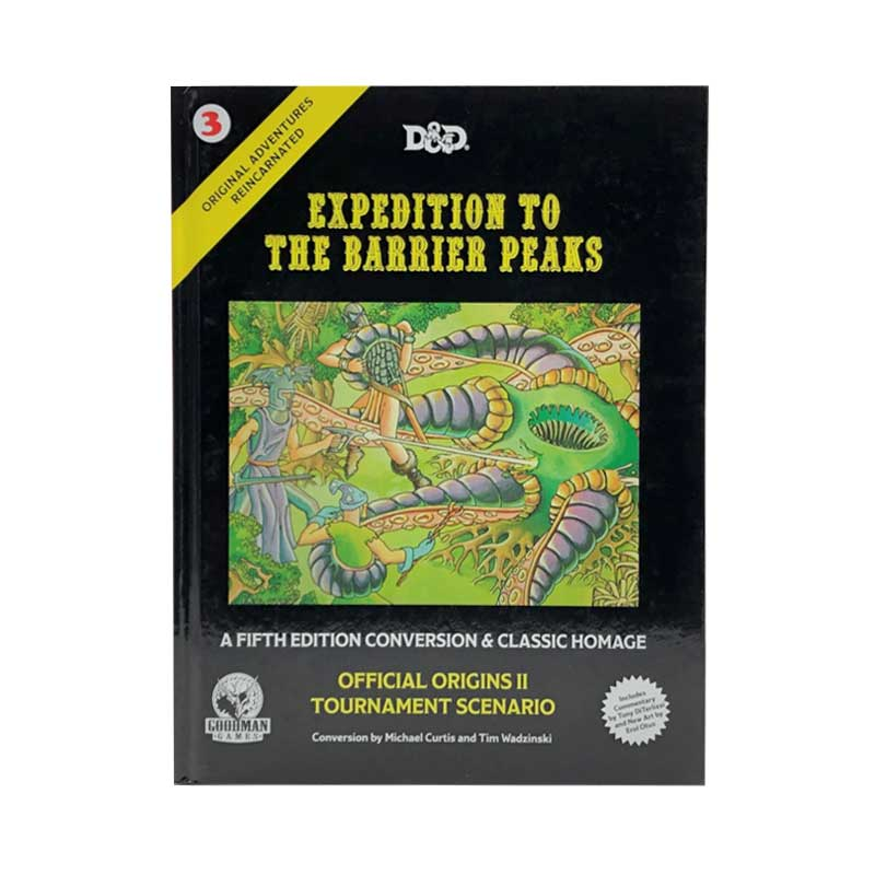 Original Adventures Reincarnated - 3 Expedition to the Barrier Peaks