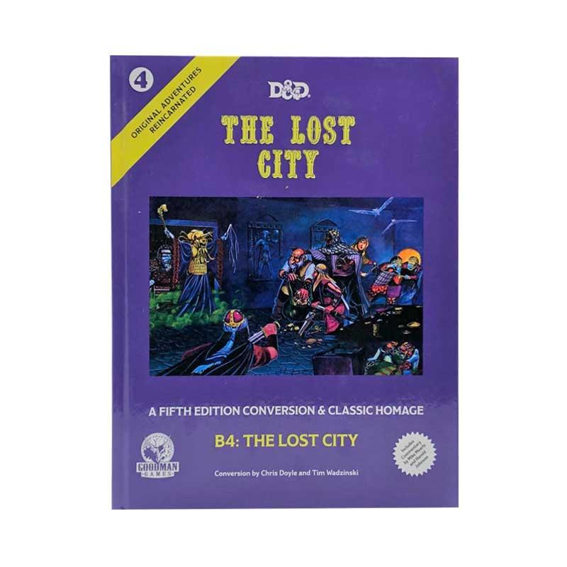 Original Adventures Reincarnated - 4 The Lost City