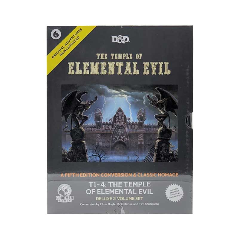 Original Adventures Reincarnated - 6 The Temple of Elemental Evil
