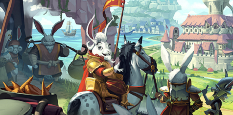 <h1>Bunny Kingdom</h1><br>